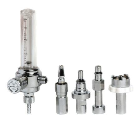 DZ Medicale - Flussometro alluminio e prese